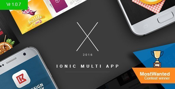 X App – Hand-crafted multiple ionic apps with Laravel backend