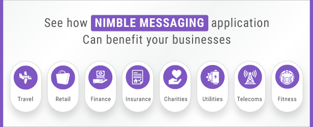 See how nimble messaging application for business android app can benefit your businesses
