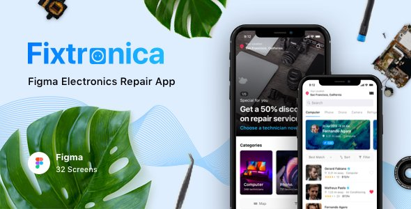 Fixtronica – Figma Electronics Repair App