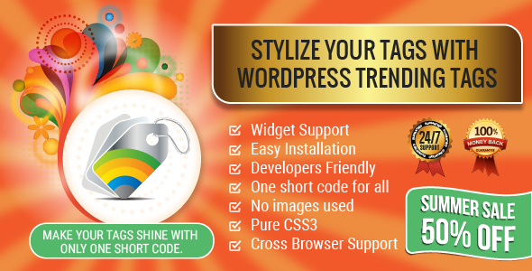 WordPress Trending Hashtags Plugin