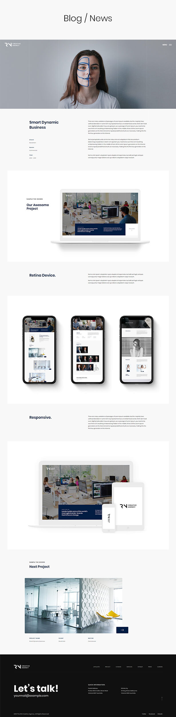 TheRN - React Gatsby Creative Agency  Template - 6