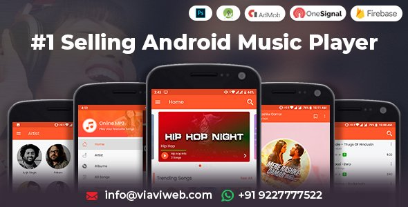 Android Music Player – Online MP3 (Songs) App