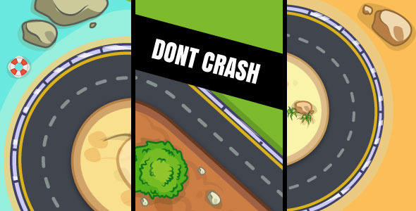 Dont Crash – HTML5 Game (Construct 2 & Construct 3)