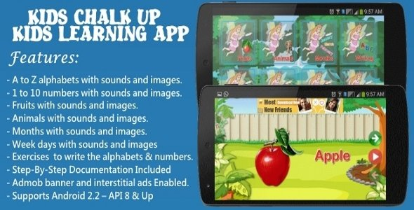 Educational Android App For Kids.