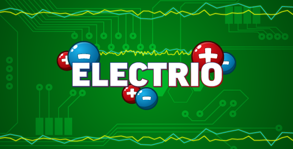 Electrio – HTML5 logic game. Construct 2 (.capx)