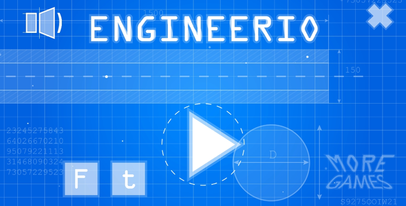 Engineerio – HTML5 game. Construct2 (.capx) + mobile