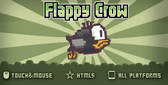 FlappyCrow-Html5 game