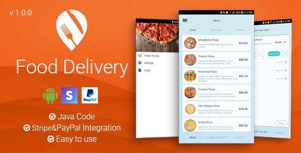 Food Delivery – Android App