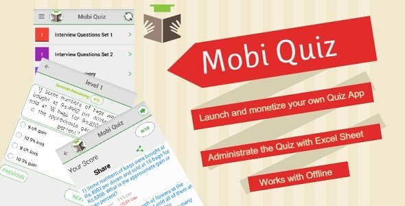 Mobi Quiz – Practice Test, Evaluate your learning , Exam App