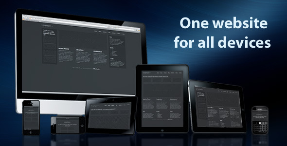 One Website For All Devices