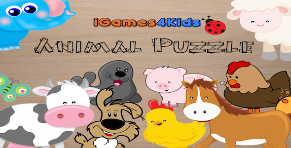 Puzzle Animals Cross-platform
