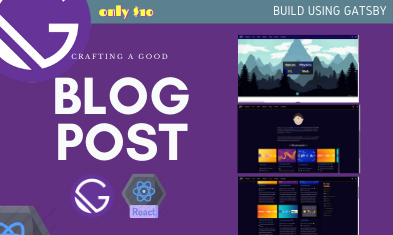 Educational Blog Using Gatsby