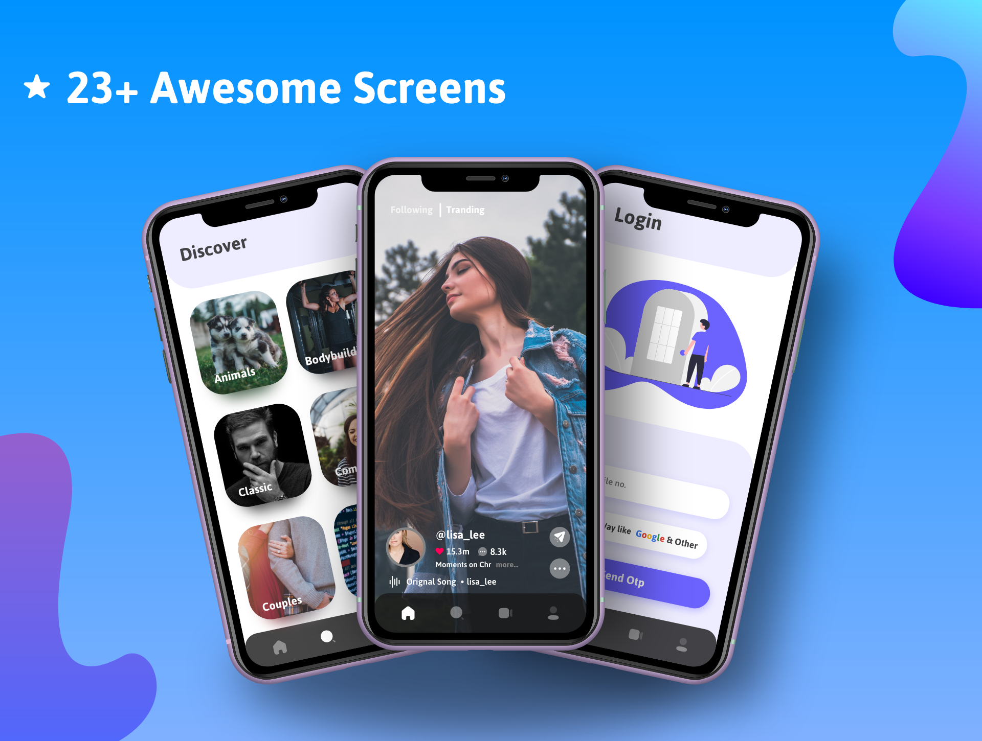 Shorty Short Video Making React Native App with Admin Panel - 4