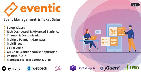 Eventic – Ticket Sales and Event Management System