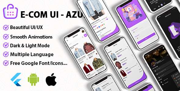 Azul – WooCommerce & Shopify Theme Ui Kit