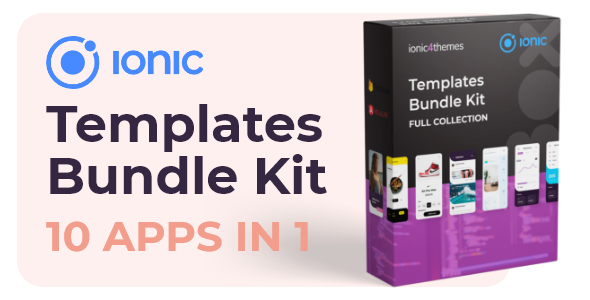 Ionic Bundle Kit – 10 apps