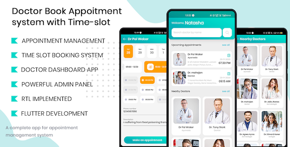 Doctor Finder – Appointment Booking With Time-slot app