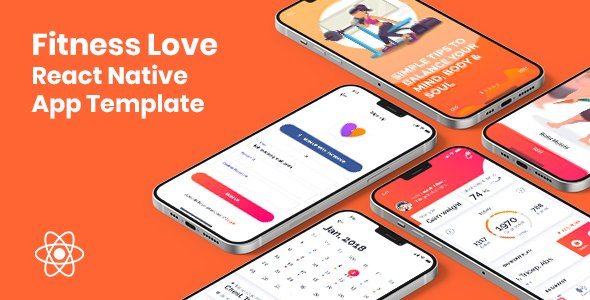 Fitness Love – React Native App Template