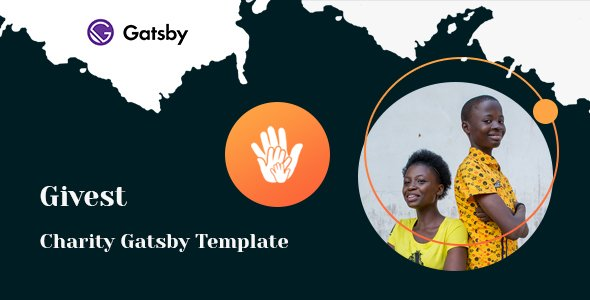 Givest – Non Profit Gatsby Template