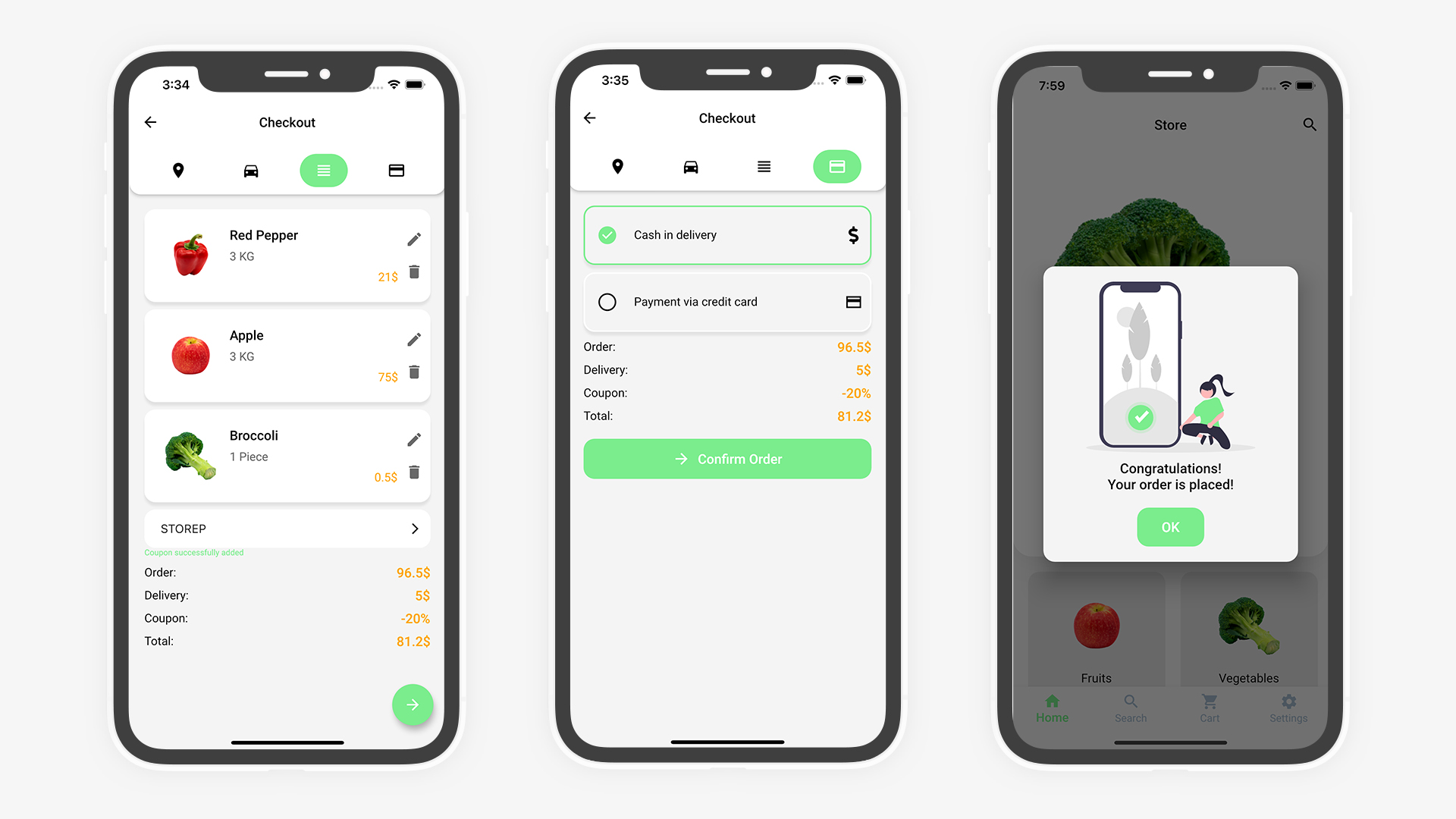 Flutter Grocery: Full Android + iOS eCommerce App (Flutter 2.0 Supported) - 23
