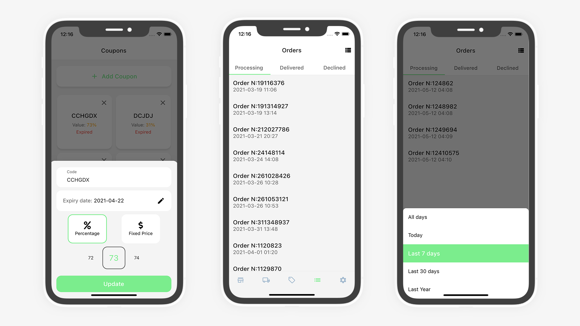 Flutter Grocery: Full Android + iOS eCommerce App (Flutter 2.0 Supported) - 33