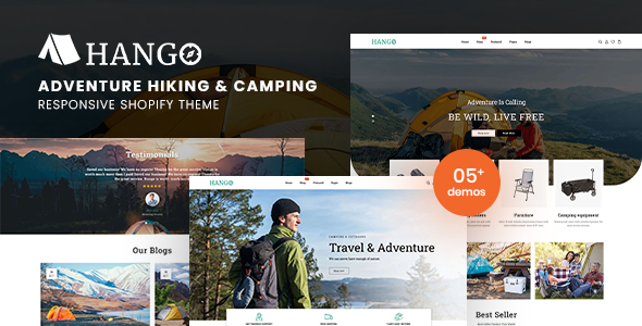 Hango – Adventure Store Hiking And Camping Shopify Theme